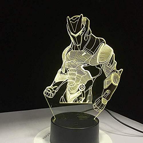 Spieleserie Standard Haut Battle Royale 3D Visuelle Lampe Rgbw 7 Farben Touch Tisch Schreibtisch Lichter Led Illusion Leuchte Geschenk Schlafzimmer Dekoration -