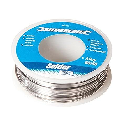 Silverline AS15 Bobine d'étain à soudure 100