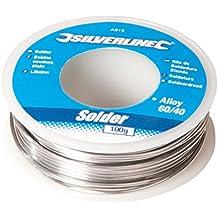 Hilo de soldadura, 100 g, AS15, de Silverline
