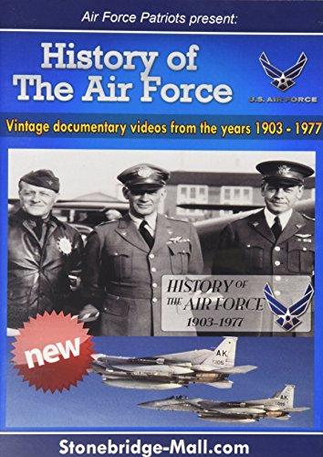 DVD Air Force Historical DVD - Original und offizielle USAF Historisches Filmmaterial gerade aus Militärarchiven & hergestellt für Veteranen & Zivilisten