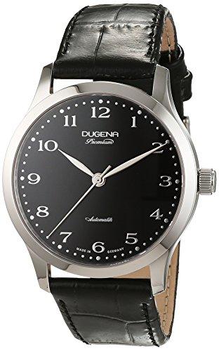 Dugena Herren-Armbanduhr Analog Automatik Leder 7000051