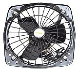 #6: JAOHN CCOOK Classic Fresh Air Fan 40 Watt Classic Fresh 2-in-1 Air Fan (Black)