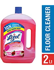 Lizol Disinfectant Floor Cleaner Floral, 2 L