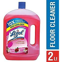 Lizol Disinfectant Floor Cleaner Floral 2L