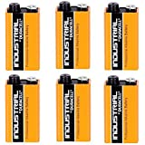 Duracell 6 x 9V Volt Industrial Battery Alkaline Replaces Procell Expiry 2019