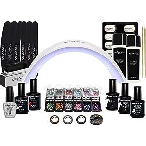 Lampara LED UV Secador de Uñas Esmalte Semipermanente Pintauñas Decoración de Uñas Manicura y Pedicura Nail Factory Edition Deluxe Design