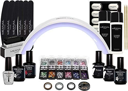 Lampara LED UV Secador de Uñas Esmalte Semipermanente Pintauñas Decoración de Uñas Manicura y Pedicura...