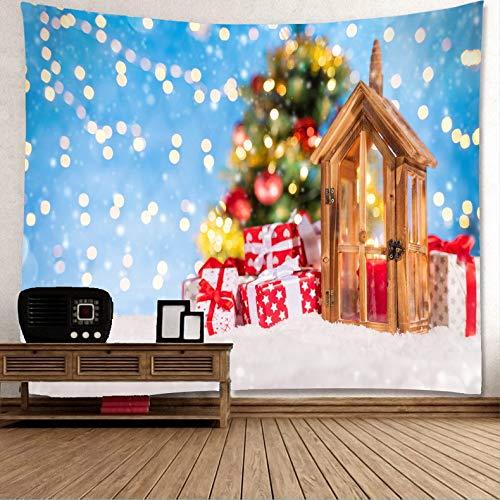 Xkjymx Navidad Tapiz Viento Navidad muñeco Nieve