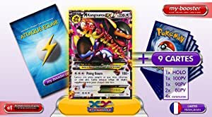 MEGA KANGOUREX EX 79/106 230PV XY 2 Etincelles (Flashfire) - Booster optimisé ATTAQUE ECLAIR de 10 cartes pokemon Francaises