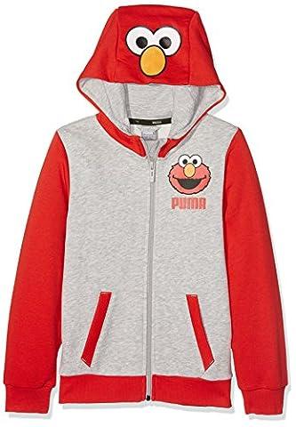 Puma Sesame Street Sweat Jacket Veste Enfant 5-6 ans high risk red
