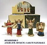 PERSONAGGI PRESEPE ANGELO CM10 NATURALE decorazioni Natale