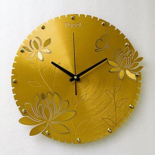 lixiong-orologio-da-parete-circolare-14-pollici-grigio-chiaro-oro-rosso-moda-camera-creativo-soggior