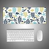 Simpatico mouse pad creativo in rilievo di gomma del fumetto pad per scrivania 2 900 * 400 * 4