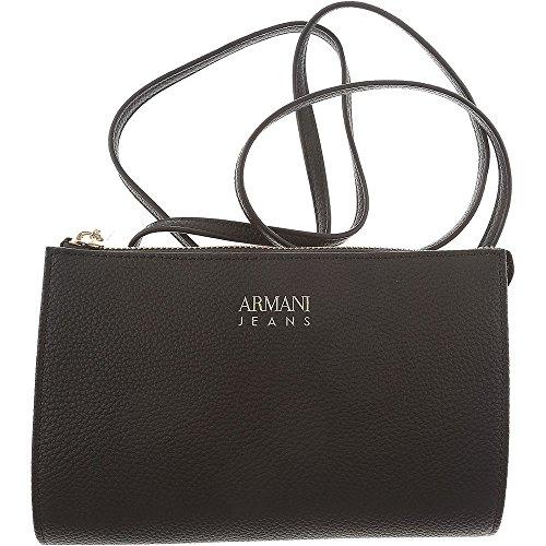 Portafoglio e Tracollina Armani Jeans in ecopelle Nero Compra Coste Barato 3VW2i5