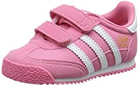 adidas Unisex Babies�?? Dragon OG CF Trainers, Pink (Easy Pink/Ftwr White/Easy Pink) 9.5 Child UK (27 EU)