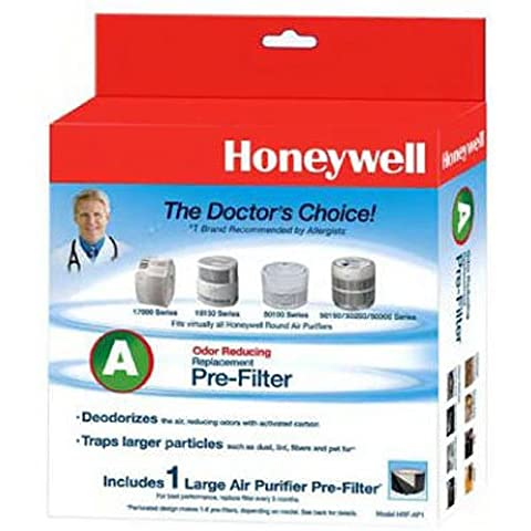 Honeywell Universal Carbon Air Purifier Replacement Pre-Filter, HRF-AP1 / Filter (A) by Kaz