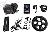 Latest BBS02 48V 750W 8fun Bafang Mittelmotor Ebike bicycle Kit BB:68mm with Colour Display