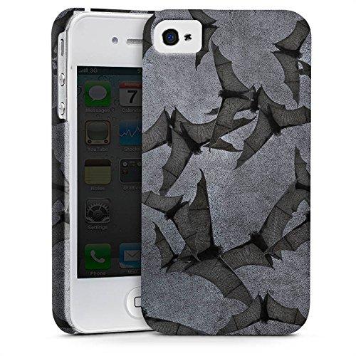 Apple iPhone 7 Hülle Premium Case Cover Fledermaus Bat Vampir Premium Case glänzend