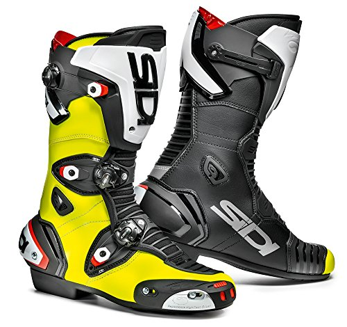 Sidi MAG-1 Stivali da Moto, Giallo Fluo/Nero, 45