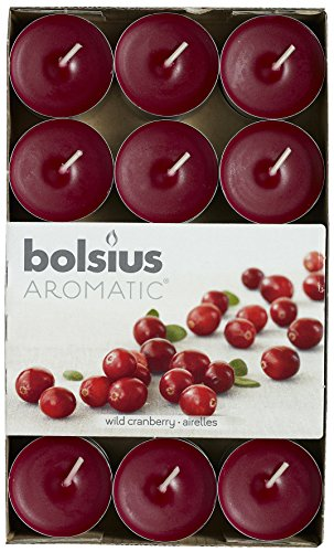 30 X Bolsius Scented Tealights Candles Aromatic Fast Postage