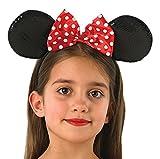 Rubie's 330073 - Minnie Mouse Ohren Deluxe, Verkleiden und Kostüme