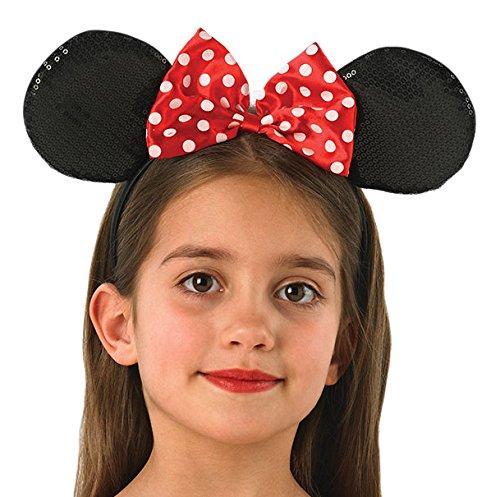 Kind Mickey Deluxe Kostüm Mouse - Rubie's 330073 - Minnie Mouse Ohren Deluxe, Verkleiden und Kostüme