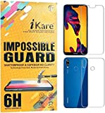 #10: Sajni Creations Ikare Impossible Huawei P20 Lite Front and back Tempered Screen Guard , Strong Plastic Fibre Unbreakable Flexible impossible Tempered Screen Guard Protector for Huawei P20 Lite - Transparent (does not cover the edges)