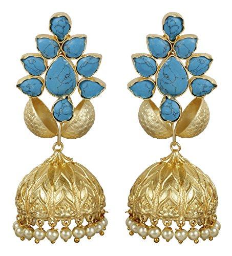 Muchmore alluring drop style boutique collection orecchini con pietre naturali gioielli alla moda per donna