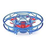ADESHOP Drone JJRC H64 Spiderman Pleine Couverture 3D Roulement Quiver Smart Drone Quadcopter Jouet RTF Avion Télécommandé Drone Toy Drone (Bleu)