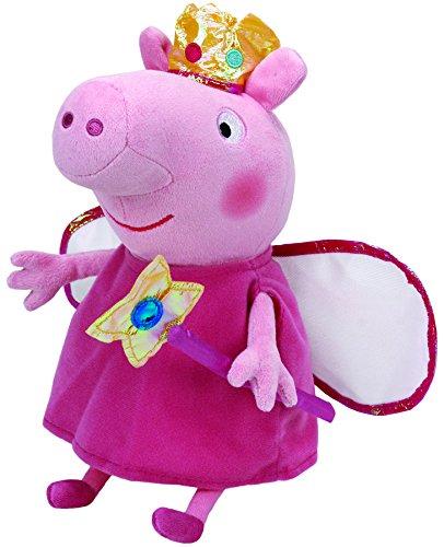 Peppa Pig Peluche princesa, 40 cm, color...