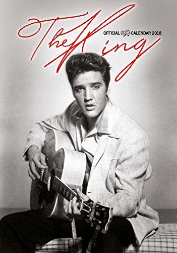 Imagicom imacal208Wall Calendar of Elvis Presley, Paper, 0.1X 30.5X 42.5Cm, Grey por Imagicom