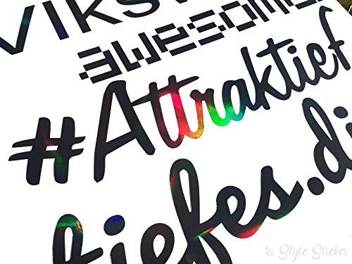 #Attraktief Frontscheibenaufkleber für alle Automarken und Tuningfreunde