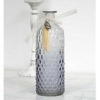 La Mente de los Ángeles Botella Bleutée Cristal Relieve