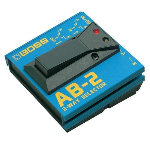 BOSS: Selector AB-2de 2Vías Pedal para guitarra eléctrica.