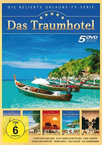 Das Traumhotel - 5er-DVD-Box Folge 1 - Indien; Zauber von Bali; Afrika; Sterne über Thailand; Dubai - Abu Dhabi