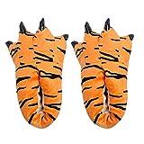 ❤️ Zapatos de Pata para niños y Padres, Familia Amor Zapatillas de Invierno cálidas Interiores Zapatos de Animales de la Pata del Monstruo de la Pata Absolute
