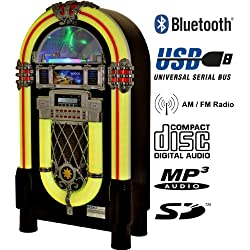 Heiku-Sport Musikbox Festival 1051 - Gramola multimedia (Bluetooth, USB, SD, MP3, CD, radio)