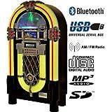 Heiku-Sport Musikbox Festival 1051 - Gramola multimedia (Bluetooth, USB, SD, MP3, CD, radio)