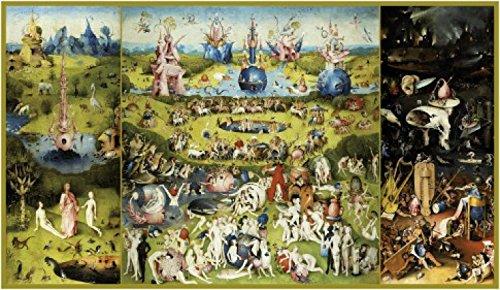 1art1 51443 Hieronymus Bosch - Der Garten Der Lüste, 1500 Kunstdruck 145 x 80 cm
