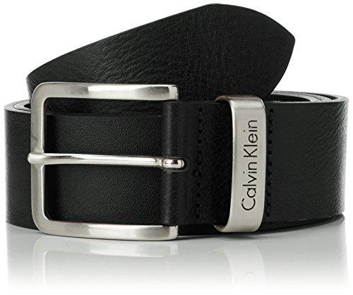 Calvin Klein - Cintura Mino Belt 1, Uomo, Black, 85 cm
