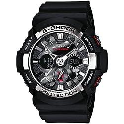 Casio G-Shock Reloj Analógico/Digital de Cuarzo para Hombre con Correa de Resina – GA-200-1AER