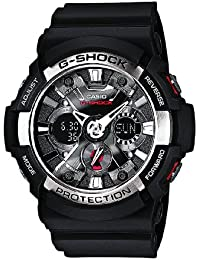 Casio G-Shock – Herren-Armbanduhr mit Analog/Digital-Display und Resin-Armband – GA-200-1AER