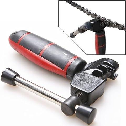 Jazooli-Kit di rivetti catena Breaker Splitter Pin per rimuovere utensili per riparazione