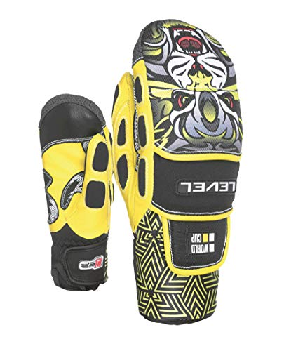 Level Worldcup Jr CF Mitt, Guanto Unisex Bambino, Giallo, 8 4XL