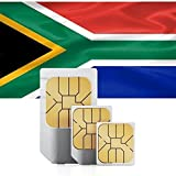 SIM Karte für Südafrika - Standard & Micro SIM mit 1GB mobilem Internet Datenvolumen für 30 Tage - südafrikanische prepaid SIM Karte