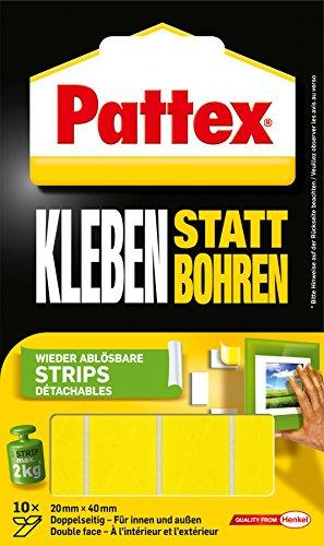 pattex-montage-klebe-strips-wieder-ablosbar-gelb
