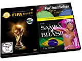 Fußballfieber - 2-teiliges Geschenkset - 3DVDs: FIFA Fever + 2CDs: Samba de Brasil
