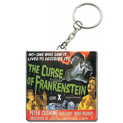 Official Hammer House of Horror Original Frankenstein Film Poster Keyring -