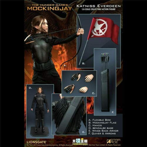 star ace Toys SA0035 - The Hunger Games - Mockingjay - Katniss Everdeen (Everdeen Mockingjay Kostüm Katniss)