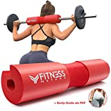 Fitness Method I 2019 Upgraded I Hip Thrust & Kniebeugen Barbell Pad +Booty Guide+ Klettverschluss,...